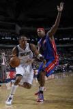 Detroit Pistons v Dallas Mavericks: Shawn Marion and Charlie Villanueva Photographic Print by Danny Bollinger