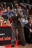 New Jersey Nets v Los Angeles Clippers: Avery Johnson Photographic Print by Noah Graham