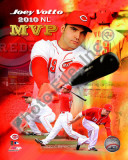 Joey Votto 2010 National League MVP Portrait Plus Photo