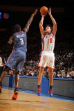 Charlotte Bobcats v New York Knicks: Danilo Gallinari and Gerald Wallace Photographic Print by Nathaniel S. Butler