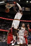 Philadelphia 76ers v Cleveland Cavaliers: J.J. Hickson Photographic Print by David Liam Kyle