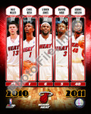 2010-11 Miami Heat Team Composite Photo