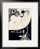 "The Climax, Illustration from ""Salome"" by Oscar Wilde, 1893 Framed Giclee Print by Aubrey Beardsley"