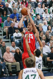 New Jersey Nets v Utah Jazz: Brook Lopez and Deron Williams Photographic Print by Melissa Majchrzak
