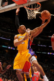 Chicago Bulls v Los Angeles Lakers: Derek Fisher Photographic Print by Noah Graham