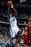 Cleveland Cavaliers v New Orleans Hornets: Emeka Okafor Photographic Print by Layne Murdoch