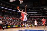 New Jersey Nets v Los Angeles Clippers: Jordan Farmar Photographic Print by Noah Graham