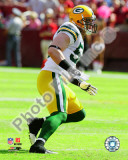 A.J. Hawk 2010 Action Photo