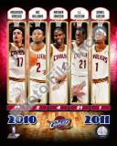 2010-11 Cleveland Cavaliers Team Composite Photo