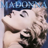 Madonna - True Blue Stretched Canvas Print