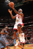 Charlotte Bobcats v Miami Heat: LeBron James Photographic Print by Victor Baldizon