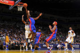 Detroit Pistons v Golden State Warriors: Ben Gordon Photographic Print by Rocky Widner