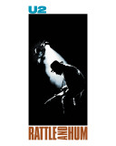 U2 - Rattle and Hum Stretched Canvas Print