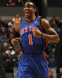 New York Knicks v Charlotte Bobcats: Amar'e Stoudemire Photographie par Kent Smith