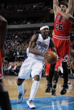 Chicago Bulls v Dallas Mavericks: Jason Terry and Kyle Korver Photographic Print by Danny Bollinger