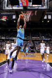 New Orleans Hornets v Sacramento Kings: Emeka Okafor Photographic Print by Rocky Widner