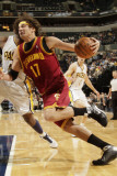 Cleveland Cavaliers v Indiana Pacers: Anderson Varejao Photographic Print by Ron Hoskins