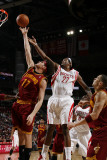 Cleveland Cavaliers v Houston Rockets: Jordan Hill and Anderson Varejao Photographic Print by Bill Baptist