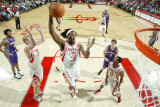 Phoenix Suns v Houston Rockets: Jordan Hill Photographic Print by Bill Baptist