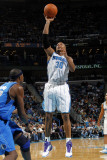 Dallas Mavericks v New Orleans Hornets: David West Photographic Print by Layne Murdoch