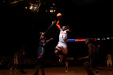 Atlanta Hawks v New York Knicks: Josh Smith and Amar&#39;e Stoudemire Photographic Print by Nathaniel S. Butler