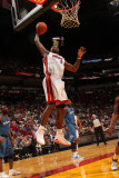 Washington Wizards v Miami Heat: LeBron James Photographic Print by Victor Baldizon