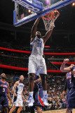 Atlanta Hawks v Orlando Magic: Brandon Bass Photographic Print by Fernando Medina