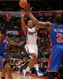 New York Knicks v Los Angeles Clippers: Randy Foye Photographic Print by Noah Graham