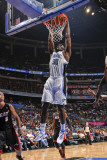 Miami Heat v Orlando Magic: Brandon Bass Photographic Print by Fernando Medina