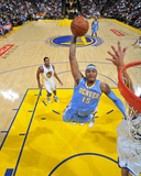 Denver Nuggets v Golden State Warriors: Carmelo Anthony Fotografisk trykk av Rocky Widner