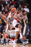 Utah Jazz v Portland Trail Blazers: LaMarcus Aldridge Photographic Print by Sam Forencich