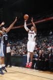 Memphis Grizzlies v Atlanta Hawks: Maurice Evans Photographic Print by Scott Cunningham