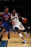 New York Knicks v Washington Wizards: Andray Blatche and Wilson Chandler Photographic Print by Ned Dishman