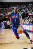 Detroit Pistons v Dallas Mavericks: Rodney Stuckey Photographic Print by Glenn James