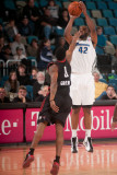 Utah Flash v Reno Bighorns: Marcus Landry and Orien Greene Photographic Print by David Calvert