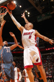 Charlotte Bobcats v Miami Heat: Carlos Arroyo Photographic Print by Victor Baldizon