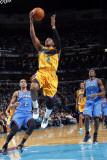 Oklahoma City Thunder v New Orleans Hornets: Chris Paul Fotografisk tryk af Layne Murdoch