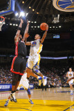Miami Heat v Golden State Warriors: Monta Ellis and Chris Bosh Photographic Print by Rocky Widner