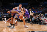 Phoenix Suns v Orlando Magic: Ryan Anderson and Josh Childress Photographic Print by Andrew Bernstein