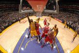 Chicago Bulls v Los Angeles Lakers: Derrick Caracter Photographic Print by Andrew Bernstein