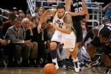 San Antonio Spurs v Utah Jazz: Deron Williams and DeJuan Blair Photographic Print by Melissa Majchrzak