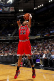 Chicago Bulls v Sacramento Kings: Taj Gibson Photographic Print by Rocky Widner