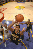 Indiana Pacers v Los Angeles Lakers: Danny Granger Photographic Print by Noah Graham