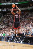 Miami Heat v Utah Jazz: James Jones Photographie par Melissa Majchrzak