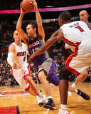 Phoenix Suns v Miami Heat: Steve Nash Photographic Print by Victor Baldizon