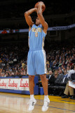 Denver Nuggets v Golden State Warriors: Aaron Afflalo Photographic Print by Rocky Widner