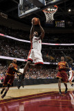 Miami Heat v Cleveland Cavaliers: LeBron James, Mo Williams and Jawad Williams Photographic Print by David Liam Kyle