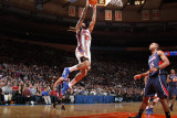 Atlanta Hawks v New York Knicks: Wilson Chandler and Al Horford Photographic Print by Nathaniel S. Butler
