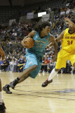 Sioux Falls Skyforce v Fort Wayne Mad Ants: Raymond Sykes and Marvin Phillips Photographic Print by Ron Hoskins