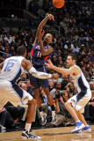 Atlanta Hawks v Orlando Magic: Jamal Crawford, Dwight Howard and J.J. Redick Photographic Print by Fernando Medina